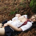 【JKコスプレエロ画像】成人した女性にJKの制服を着せてみた結果www