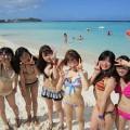 【素人水着エロ画像】素人娘たちの水着姿が生々しくて勃起不可避な件!