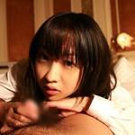 【手コキエロ画像】女の子に見つめられながら手コキされるのって最高!