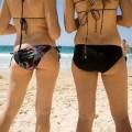 【素人水着エロ画像】ガチ素人娘たちの水着姿が生々しくて抜けるッ!