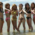 【素人水着エロ画像】素人娘たちの無防備な水着姿に思わず勃起した!