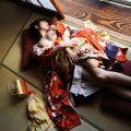 【和服エロ画像】和服姿の女の子のエロスってめちゃめちゃ興奮するよな!?