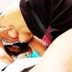 【美容師エロ画像】デカパイ美容師さんが散髪中に胸チラ誘惑したら勃起ちんぽをパイズリやフェラしてサービスセックスしてくれた美容師のエロ画像集w【80枚】