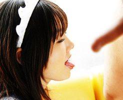 【メイドフェラエロ画像】癒やし系メイドにちんぽをお掃除してもらったメイドフェラのエロ画像集ww【80枚】