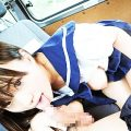 【JKフェラエロ画像】こんな学園生活したかった!美少女JKが制服姿でフェラしてくれるJKフェラのエロ画像集!ww【80枚】