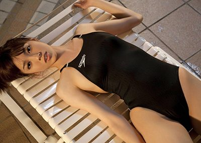 【競泳水着エロ画像】競泳用なのにこんなにエロい競泳水着着用女子におっきしたw
