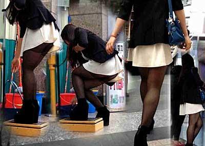 【ハプニングエロ画像】街中で出会えるウソみたいなエロハプニング画像集!引きこもりの子に見せれば効果あるのではww